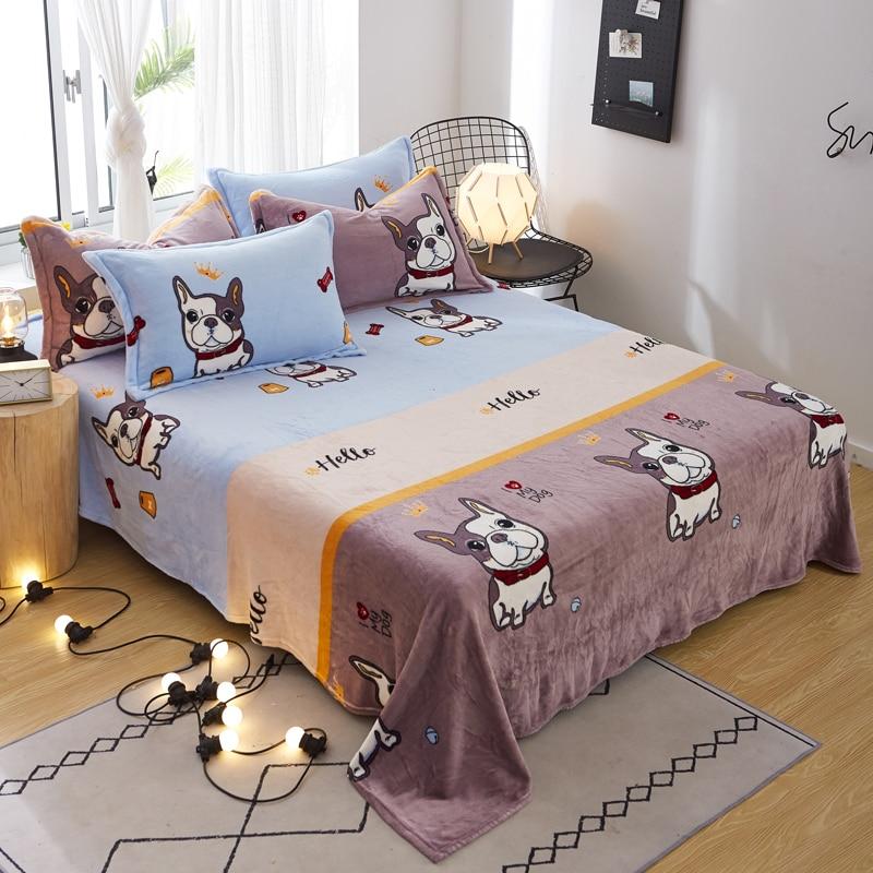 Animal Printed Fleece Blanket