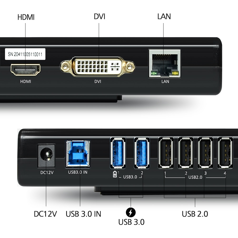 Universal Docking Station in Different Color