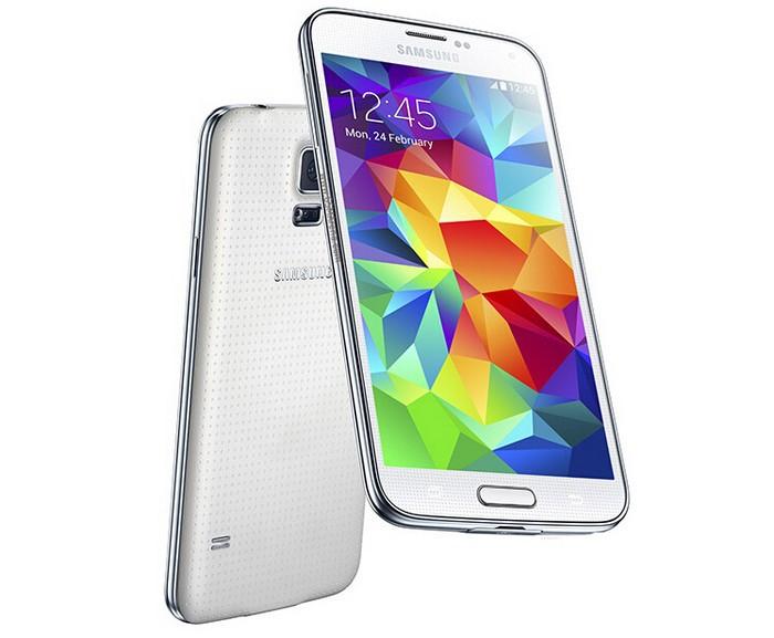 Samsung Galaxy S5 with 2 GB RAM and 16 GB ROM